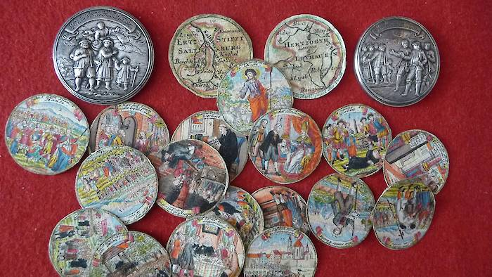 Screw-medal from Abraham Remshard