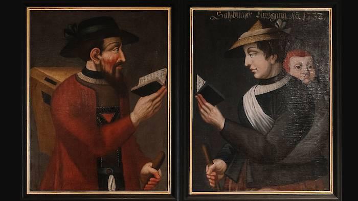 Porträts von Salzburger Exulanten