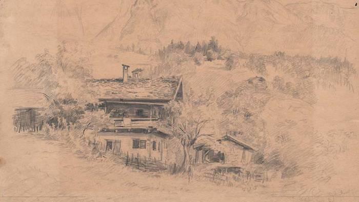 Painting of Grundbach